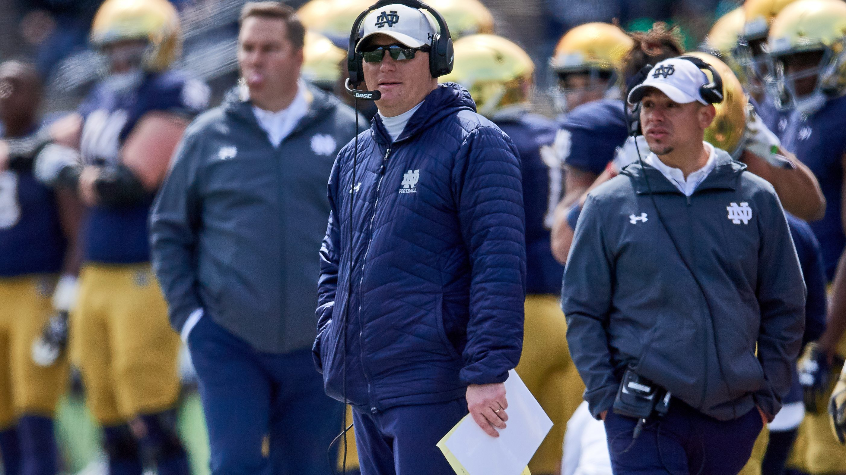 Reports: Notre Dame and offensive coordinator Chip Long to split ways