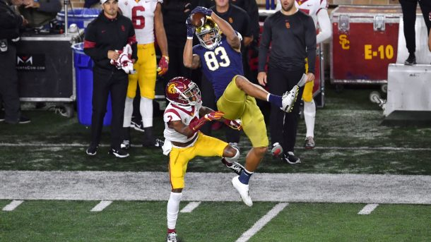 chase claypool notre dame