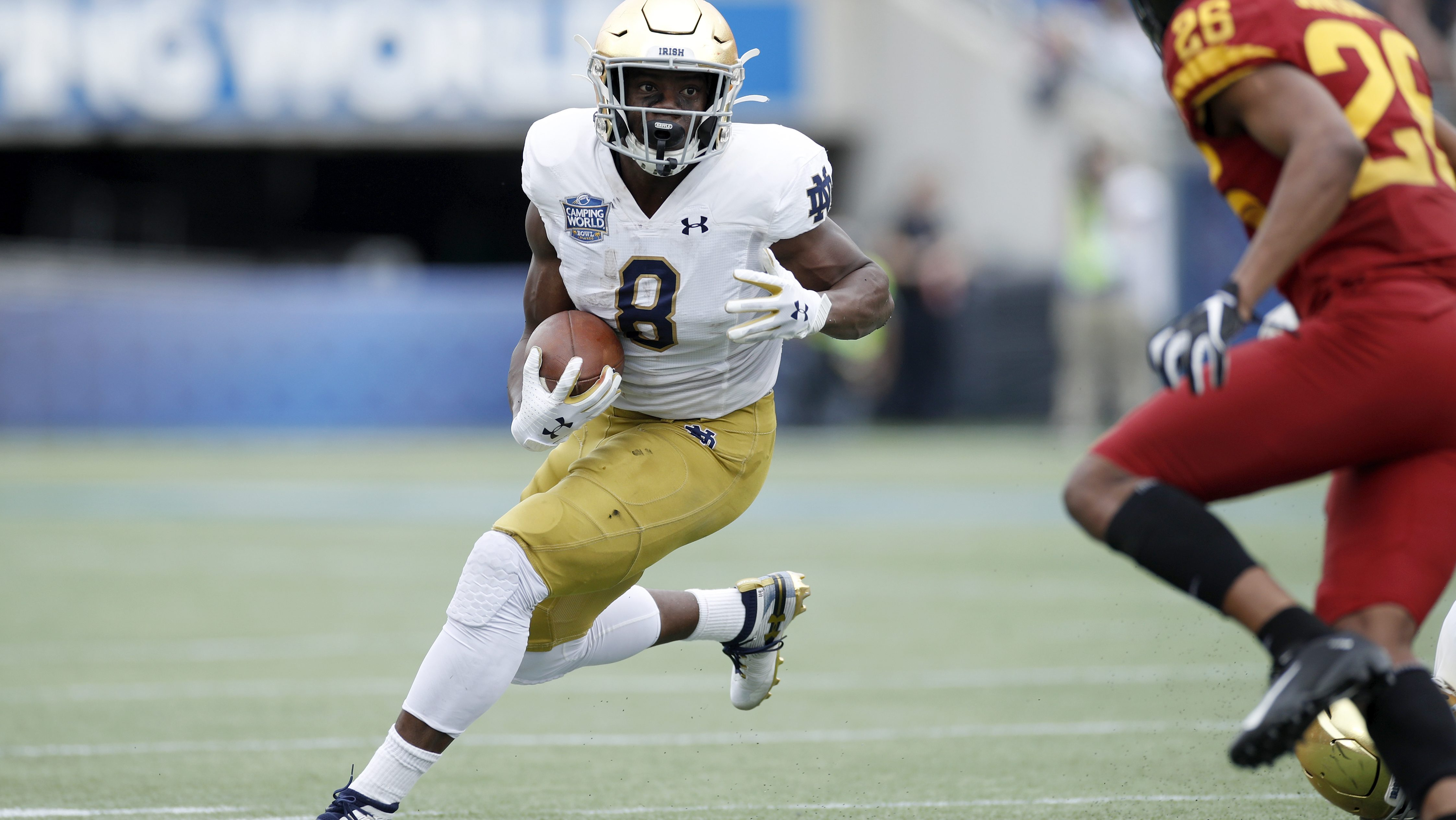 Where Notre Dame Was Is Will Be Running Backs Inside The Irish Nbc Sports