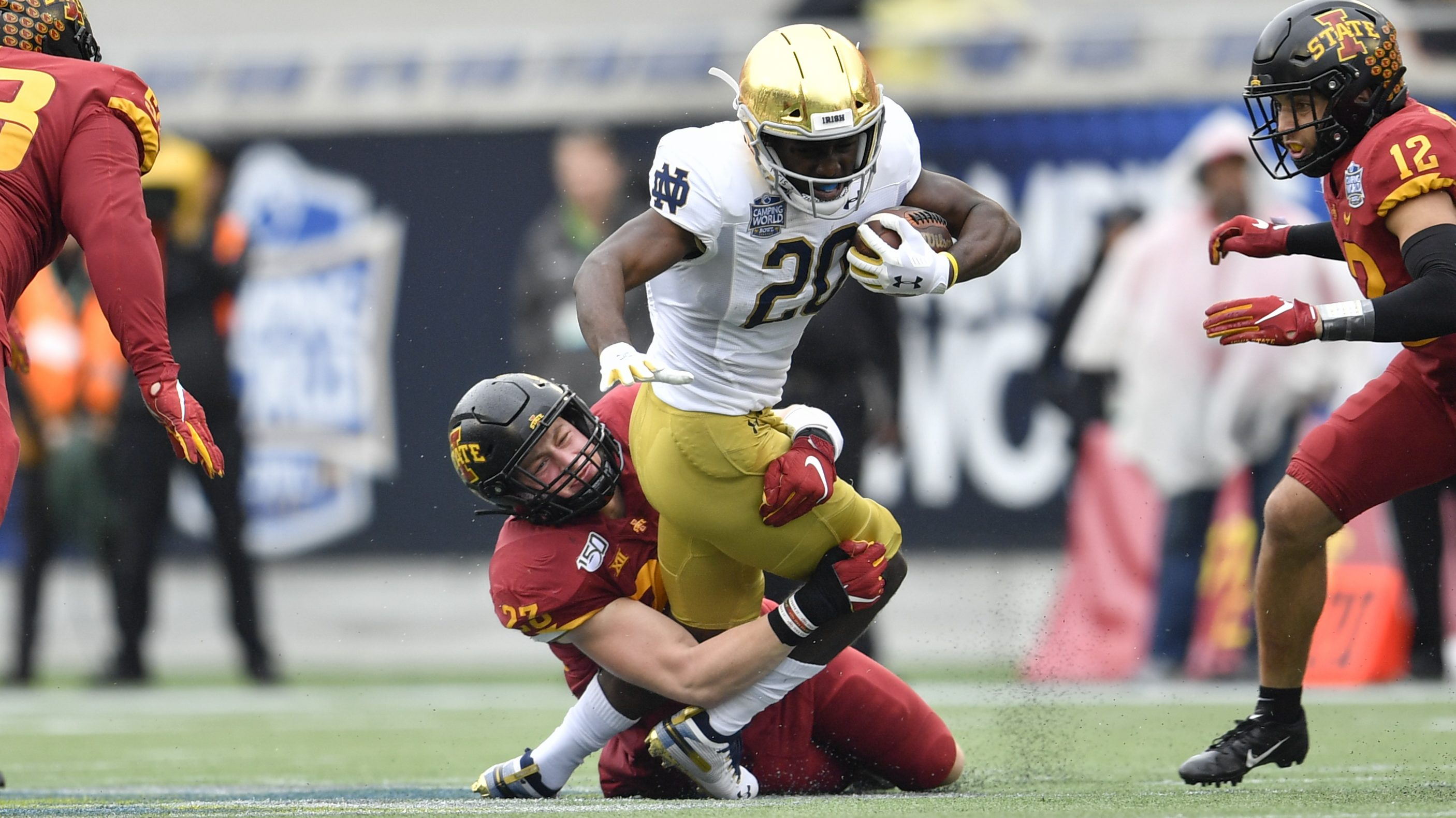 Spring Outlook Notre Dame S Running Backs Up To Eight Of Them Inside The Irish Nbc Sports