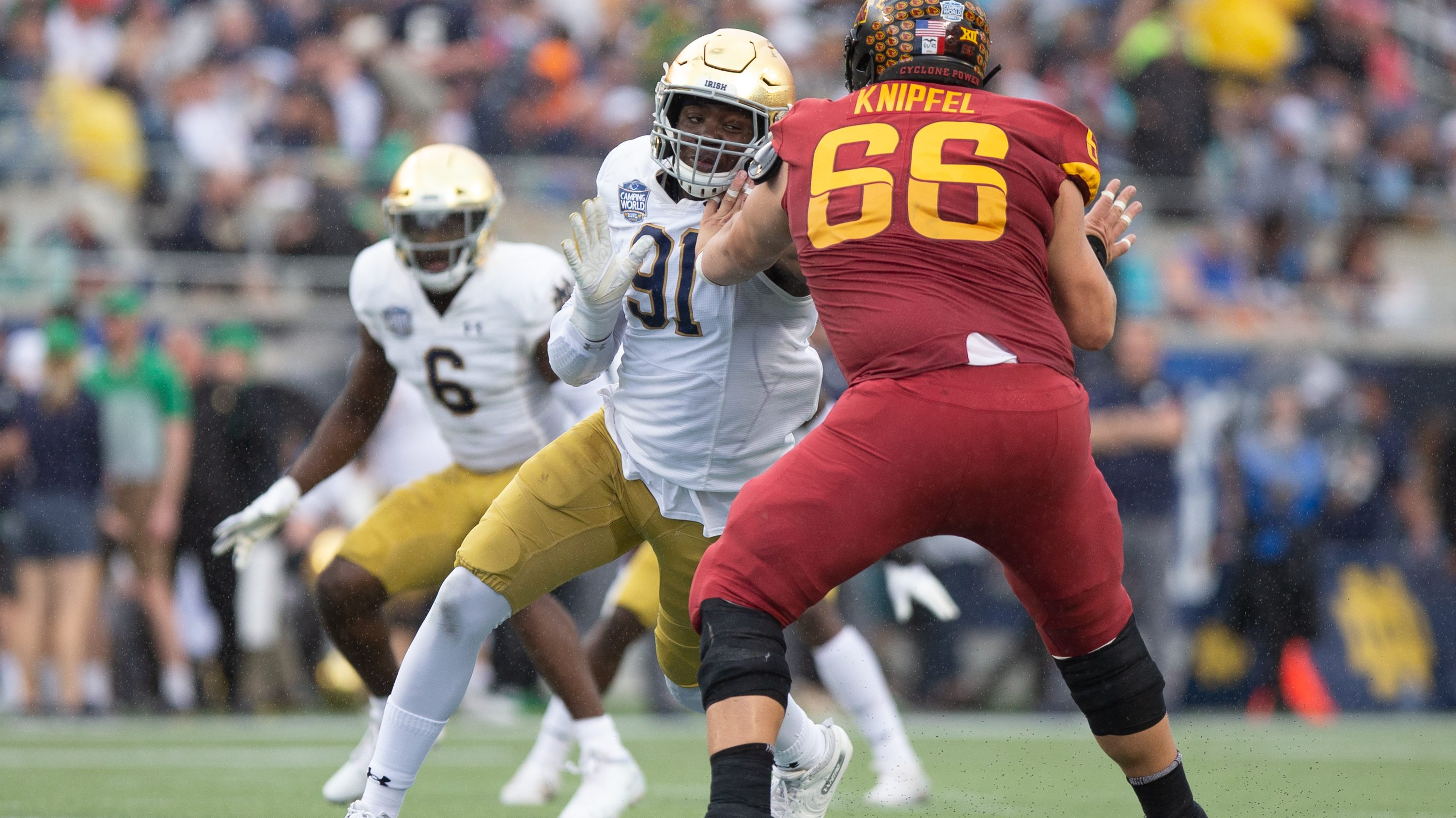 Spring Outlook: Notre Dame's defensive line, again a strength - Inside the Irish | NBC Sports