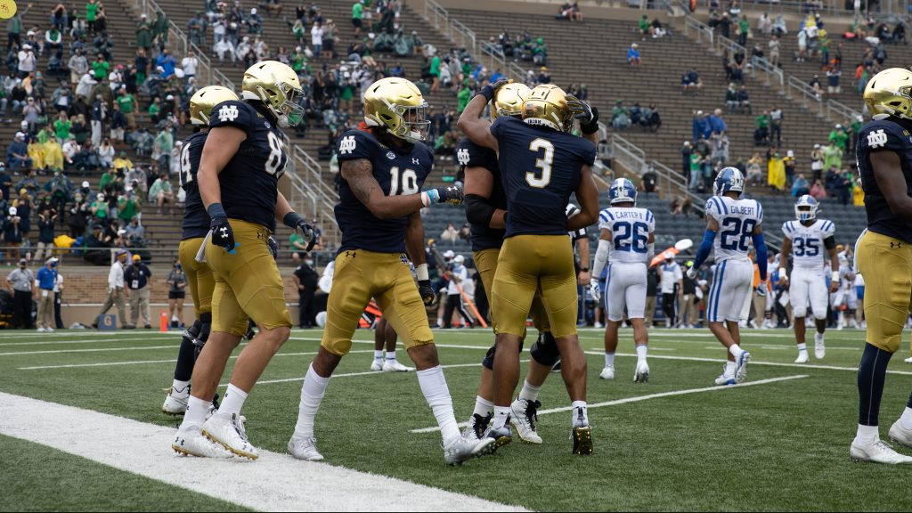 Notre Dame receivers