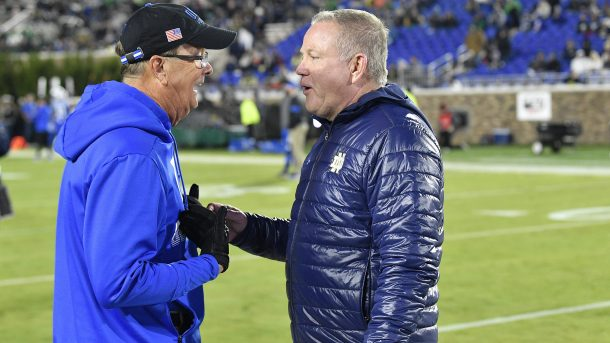 David Cutcliffe Brian Kelly