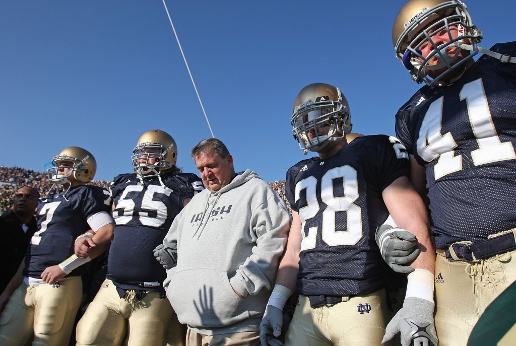Charlie Weis Notre Dame