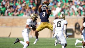 COLLEGE FOOTBALL: SEP 18 Purdue at Notre Dame