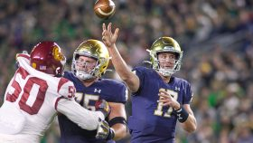 COLLEGE FOOTBALL: OCT 23 USC at Notre Dame